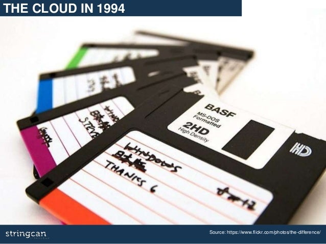 Source: https://www.flickr.com/photos/the-difference/ THE CLOUD IN 1994