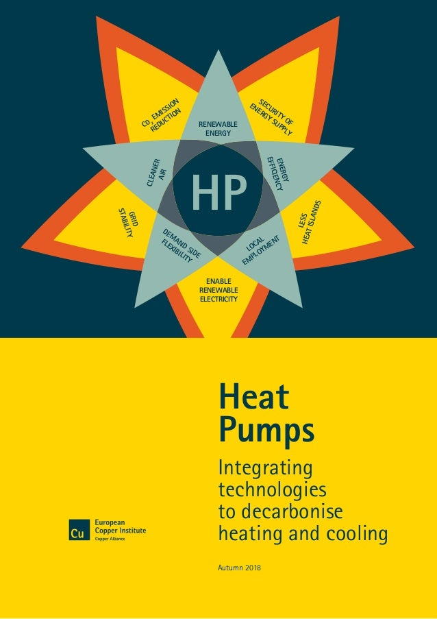Heat Pumps: Integrating technologies to decarbonise heating and cooling1 RENEWABLE ENERGY C0 2 EM ISSION REDUCTION SECURIT...