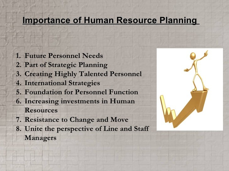 need and importance of human resource planning