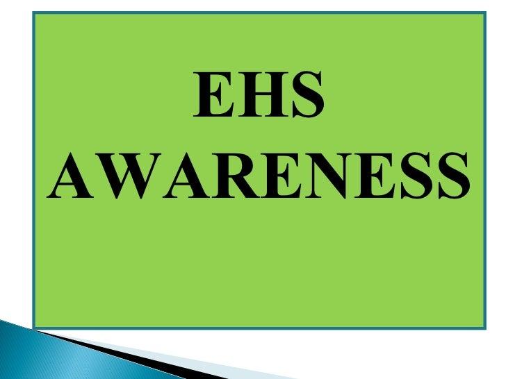 EHSAWARENESS