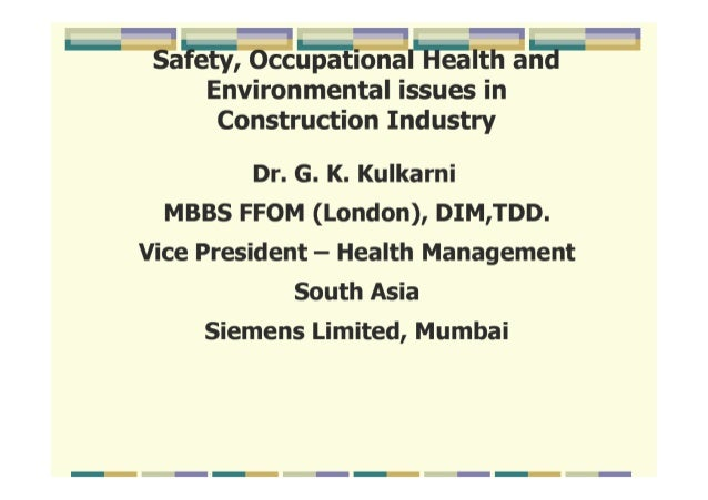 BOHS_Occupational Health in-construction-sector