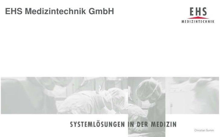 EHS Medizintechnik GmbH<br />