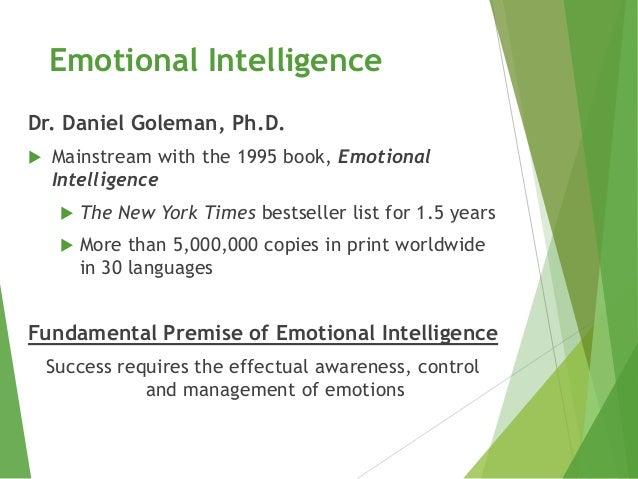 Emotional Intelligence (EI) Slide 2