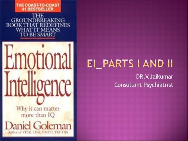 DR.V.Jaikumar Consultant Psychiatrist