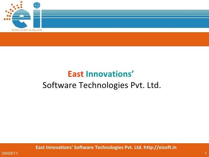 East   Innovations'   Software Technologies Pvt. Ltd.