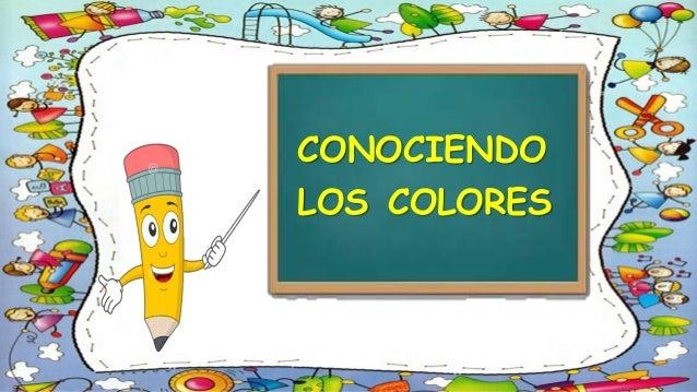 LOS COLORES\