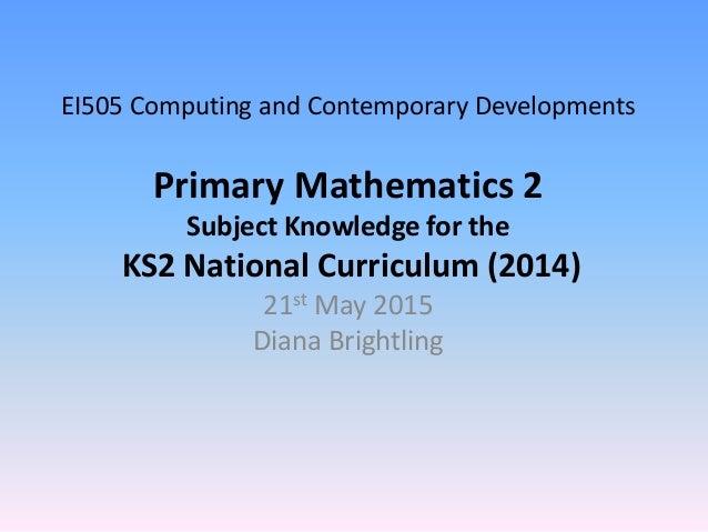 Ei505 maths 2 (may 2015)