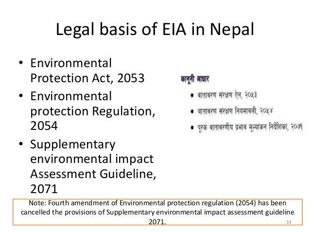 environmental impact assessment initial environmental examination rh slideshare net 13th Amendment Constitutional Amendments