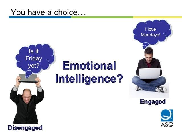 Emotional Intelligence and Work Engagement Slide 3