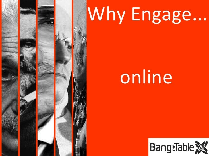 online Why Engage...