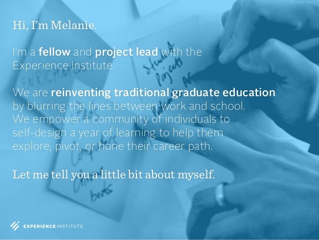 Melanie Kahl - Apprenticeship Overview Generic Slide 2