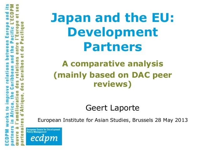 A comparative analysis(mainly based on DAC peerreviews)Geert LaporteEuropean Institute for Asian Studies, Brussels 28 May ...