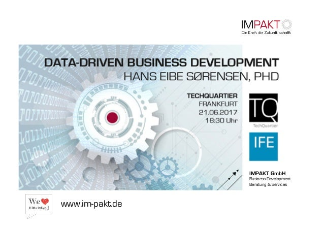 IMPAKT GmbH Business Development Beratung & Services www.im-pakt.de