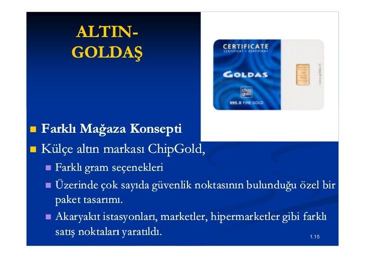 ALTIN-         ALTIN-         GOLDAŞ   Farklı Mağaza Konsepti   Külçe altın markası ChipGold,                        Chi...