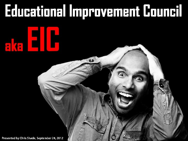 EIC Training 9.24.12