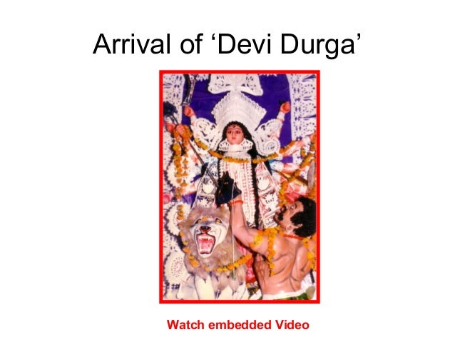 Arrival of 'Devi Durga' Watch embedded Video