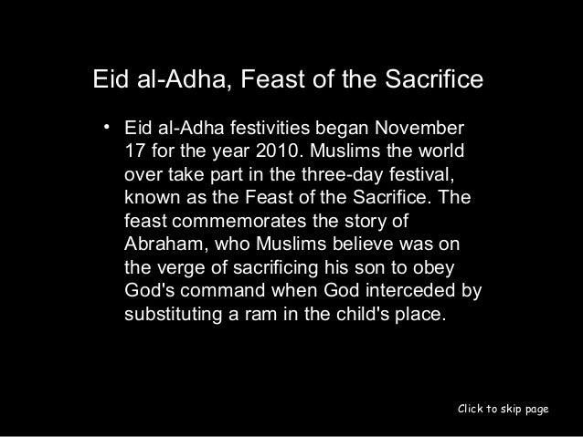 eid ul adha presentation