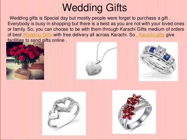 When To Send Wedding Gift: Send Eid GIfts To Karachi Presentation