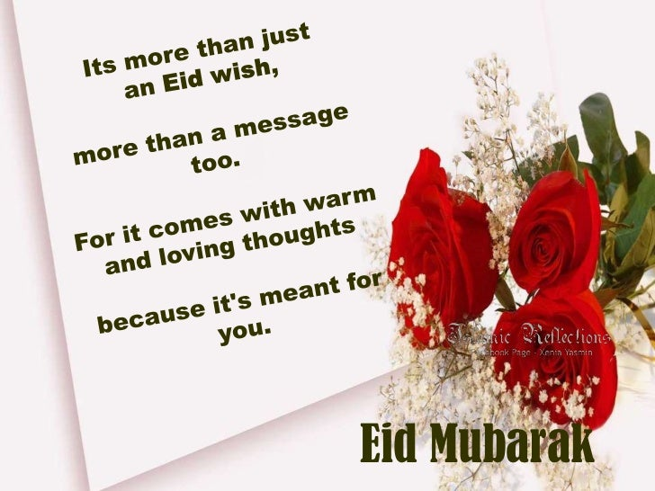 Eid Wishes & Greetings