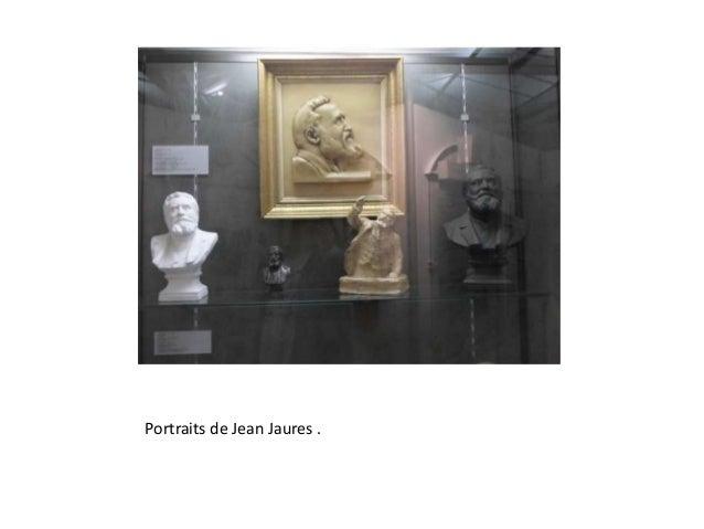 Portraits de Jean Jaures .