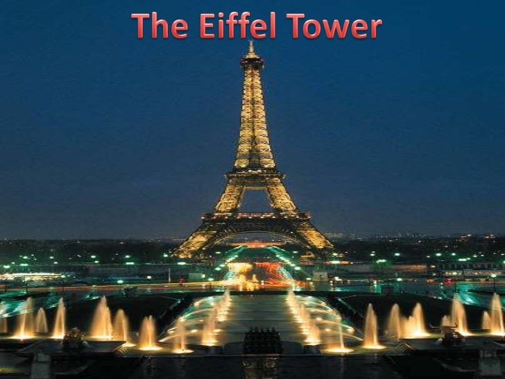 The Eiffel Tower<br />