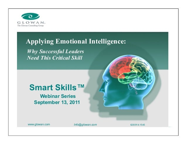 need of emotional intelligence to make Many of us are aware of iq (intelligence quotient) designed to measure intellectual intelligence, it gives a score from a series of tests higher iqs indicate better cognitive abilities, or the ability to learn and understand people with higher iqs are more likely to do well academically without exerting the same amount of mental.