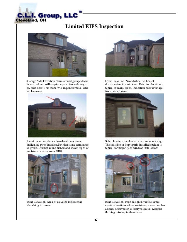 Sample Front Elevation Values : Eifs sample