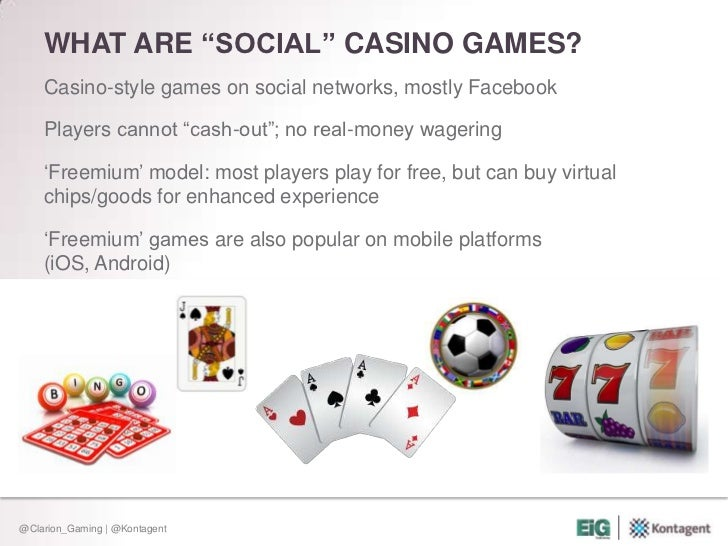 What is social gambling casino price share