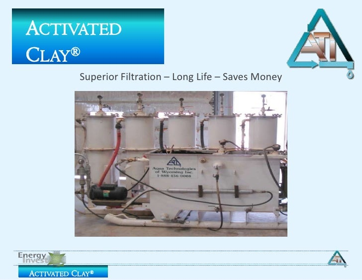 Activated Clay®<br />Superior Filtration – Long Life – Saves Money<br />