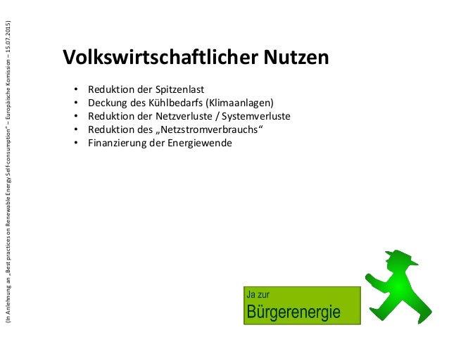 Eigenverbrauch von Solarstrom Slide 2