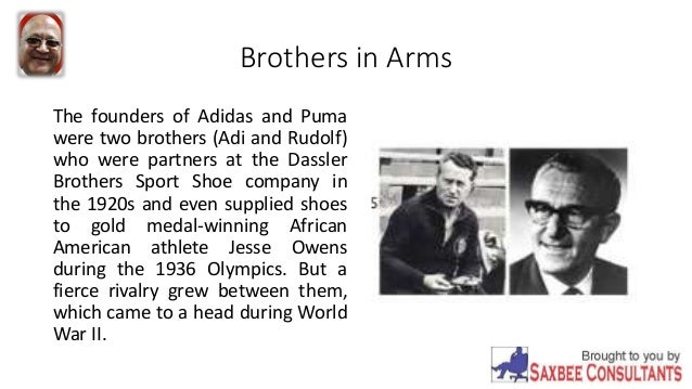 to buy meet special for shoe creators of adidas and puma brothers and nazis | Adidou