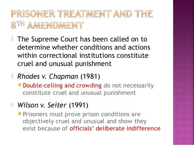 Amendment 8 Cruel And Unusual Punishment
