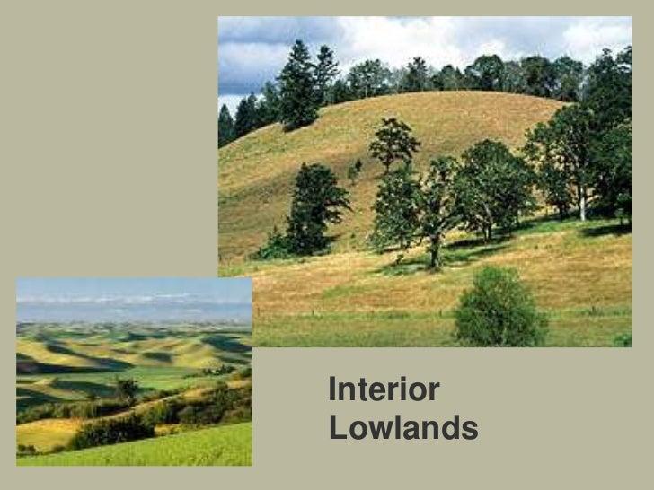 Interior Lowlandsu003cbr /u003e; 16.