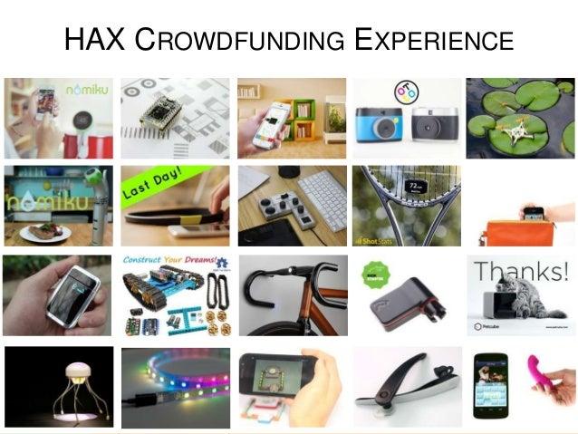 HAX CROWDFUNDING EXPERIENCE