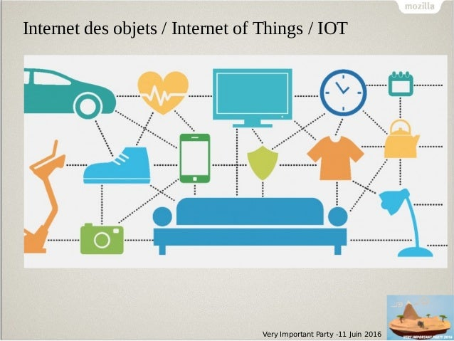 Very Important Party -11 Juin 2016 Internet des objets / Internet of Things / IOT