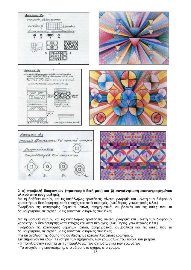 18 2. α) προβολή διαφανειών (προσφορά δική μου) και β) συγκέντρωση εικονογραφημένου υλικού από τους μαθητές Με τη βοήθεια ...