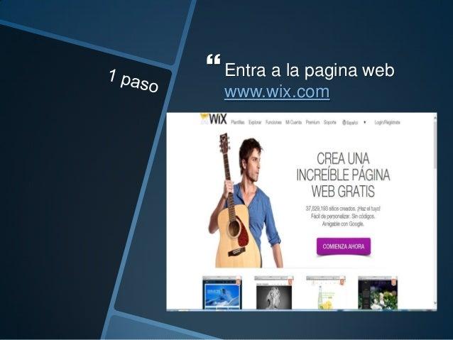  Luego que hallas ingresado, debes darle clic en comenzar a crear un sitio web