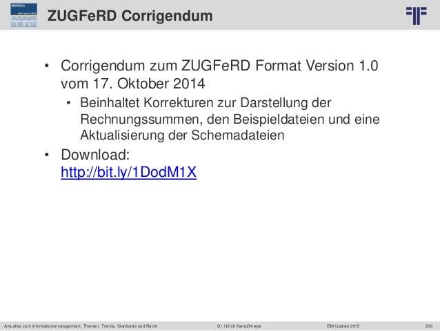 206 © PROJECT CONSULT Unternehmensberatung Dr. Ulrich Kampffmeyer GmbH 2011 / Autorenrecht: <Vorname Nachname> Jun-15 / Qu...