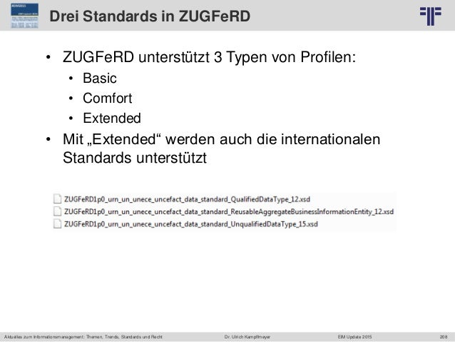 208 © PROJECT CONSULT Unternehmensberatung Dr. Ulrich Kampffmeyer GmbH 2011 / Autorenrecht: <Vorname Nachname> Jun-15 / Qu...