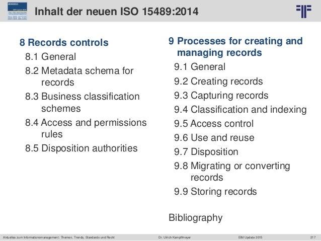 217 © PROJECT CONSULT Unternehmensberatung Dr. Ulrich Kampffmeyer GmbH 2011 / Autorenrecht: <Vorname Nachname> Jun-15 / Qu...