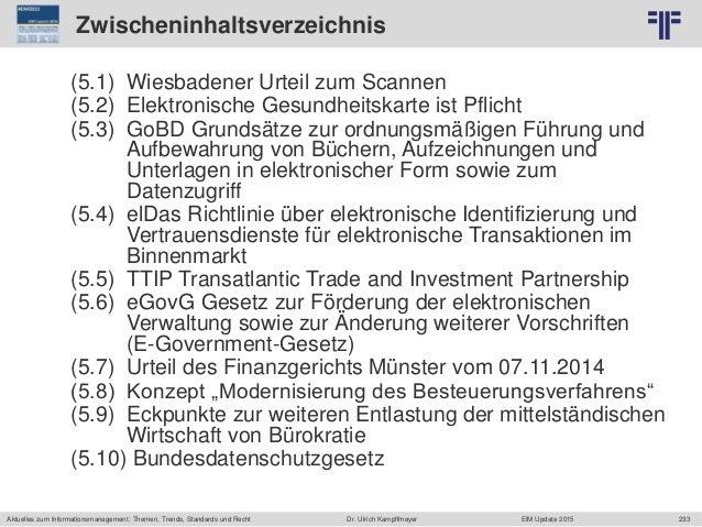 233 © PROJECT CONSULT Unternehmensberatung Dr. Ulrich Kampffmeyer GmbH 2011 / Autorenrecht: <Vorname Nachname> Jun-15 / Qu...