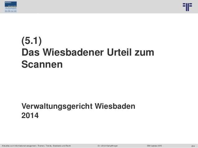 234 © PROJECT CONSULT Unternehmensberatung Dr. Ulrich Kampffmeyer GmbH 2011 / Autorenrecht: <Vorname Nachname> Jun-15 / Qu...
