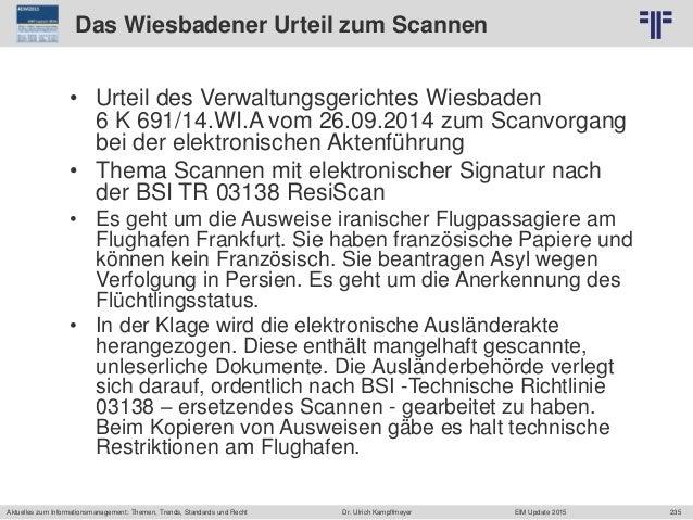 235 © PROJECT CONSULT Unternehmensberatung Dr. Ulrich Kampffmeyer GmbH 2011 / Autorenrecht: <Vorname Nachname> Jun-15 / Qu...
