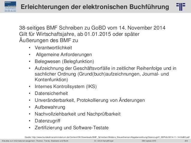 250 © PROJECT CONSULT Unternehmensberatung Dr. Ulrich Kampffmeyer GmbH 2011 / Autorenrecht: <Vorname Nachname> Jun-15 / Qu...