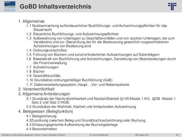 251 © PROJECT CONSULT Unternehmensberatung Dr. Ulrich Kampffmeyer GmbH 2011 / Autorenrecht: <Vorname Nachname> Jun-15 / Qu...