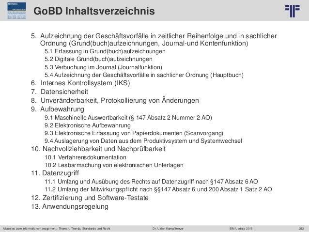 252 © PROJECT CONSULT Unternehmensberatung Dr. Ulrich Kampffmeyer GmbH 2011 / Autorenrecht: <Vorname Nachname> Jun-15 / Qu...