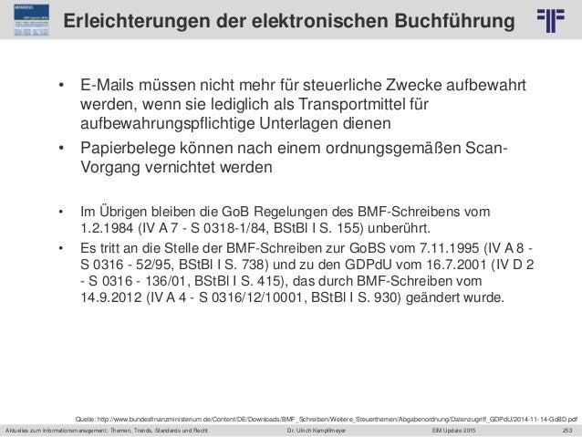 253 © PROJECT CONSULT Unternehmensberatung Dr. Ulrich Kampffmeyer GmbH 2011 / Autorenrecht: <Vorname Nachname> Jun-15 / Qu...