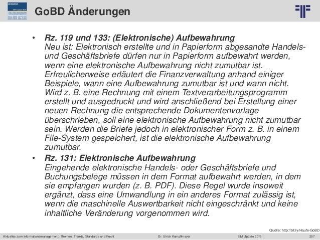 257 © PROJECT CONSULT Unternehmensberatung Dr. Ulrich Kampffmeyer GmbH 2011 / Autorenrecht: <Vorname Nachname> Jun-15 / Qu...