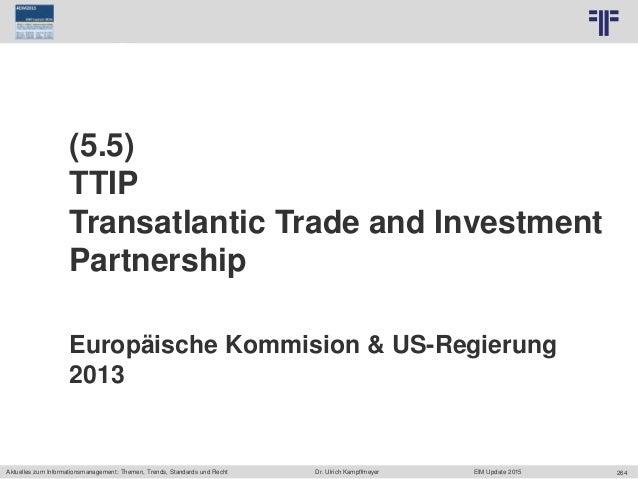 264 © PROJECT CONSULT Unternehmensberatung Dr. Ulrich Kampffmeyer GmbH 2011 / Autorenrecht: <Vorname Nachname> Jun-15 / Qu...