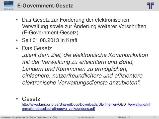 271 © PROJECT CONSULT Unternehmensberatung Dr. Ulrich Kampffmeyer GmbH 2011 / Autorenrecht: <Vorname Nachname> Jun-15 / Qu...